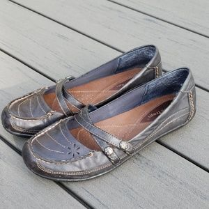 Bare Traps slip on Mary Janes